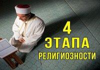 4 этапа духовного развития. А на каком этапе находитесь вы?