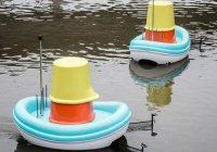 Компания IKEA создала лодки для очистки рек