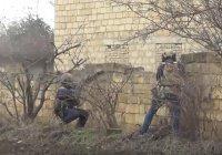 Опубликовано видео ликвидации боевика в Дагестане (Видео)