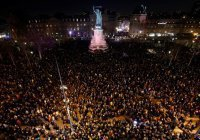 В Париже митинг против антисемитизма собрал 20 тысяч человек