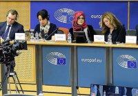 Невеста убитого Хашкаджи выступила в Европарламенте