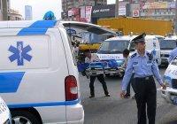 Мужчина напал на прохожих с ножом в Китае