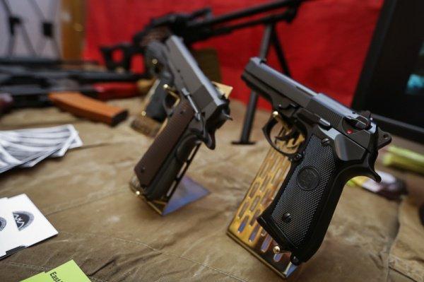 Посетители выставки увидят оружие террористов.